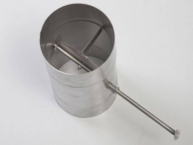 Стабилизатор (регулятор) тяги дымохода   гид по отоплению
