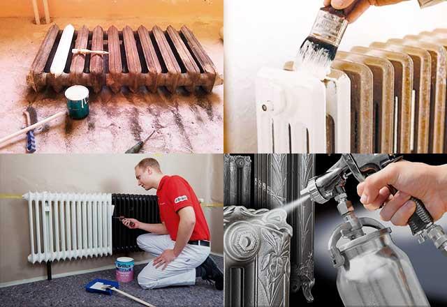 Какой краской красить радиаторы отопления: сравнительный обзор видов краски для батарей + лучшие производители