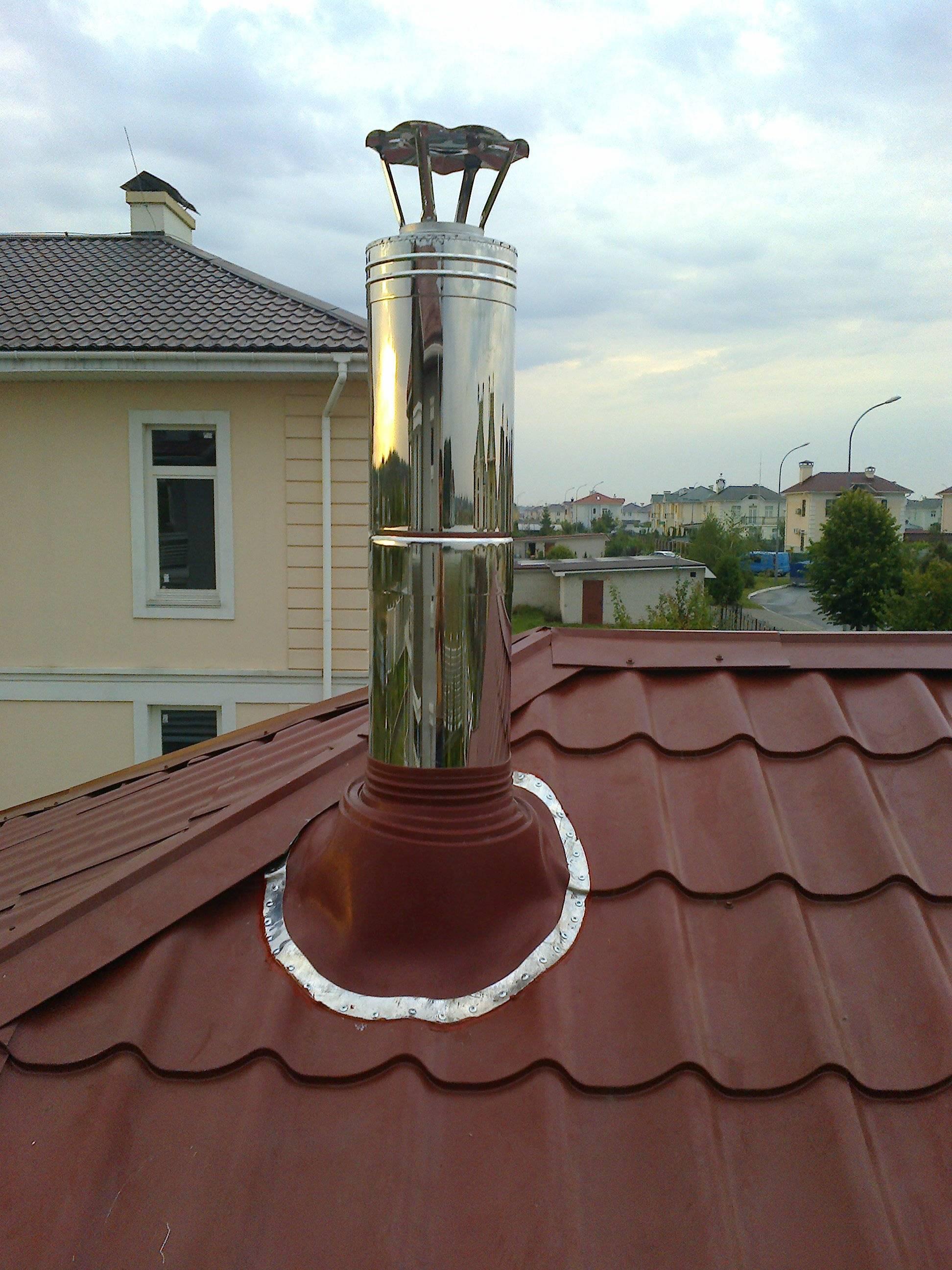 Флеш-мастер для дымохода – инструкция по монтажу