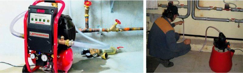 Способы промывки системы отопления жилого дома