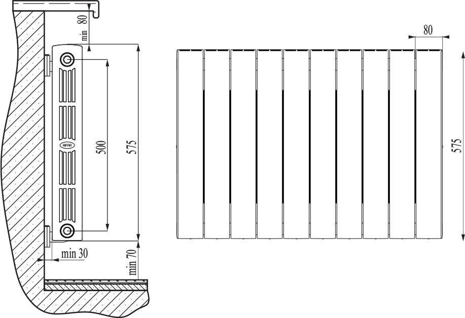Стальные пластинчатые радиаторы отопления характеристики