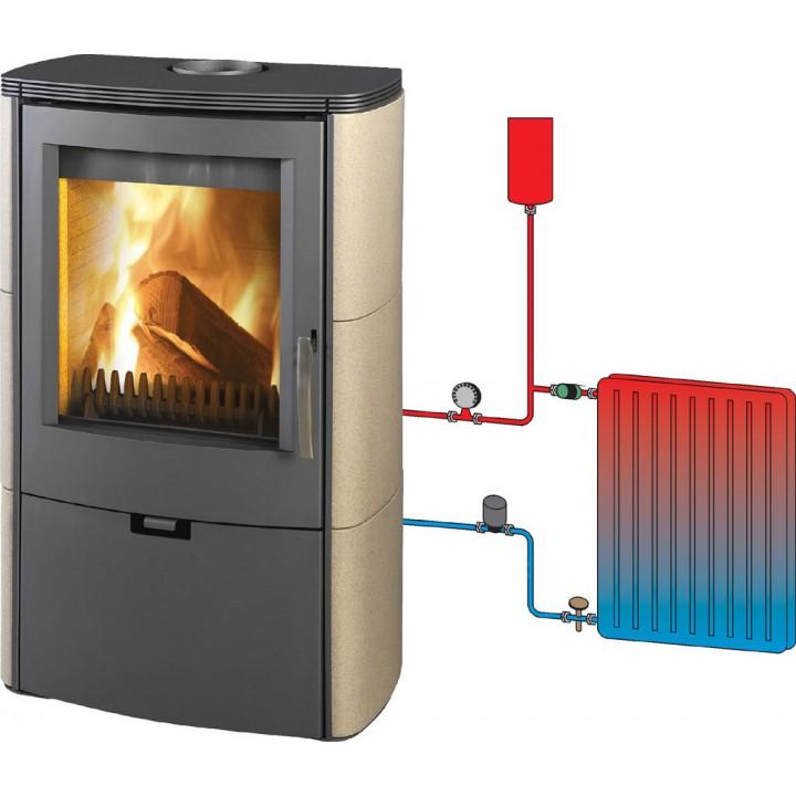 Как сделать дровяную печь длительного горения для отопления дома