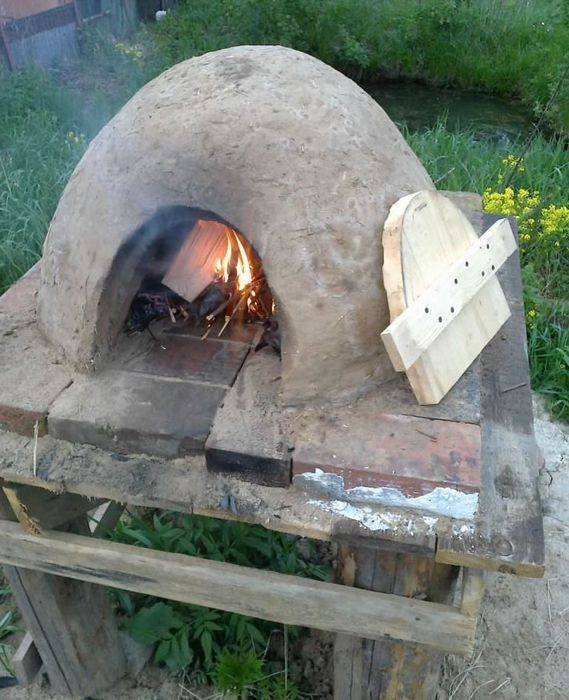 Глинобитная печь: технология изготовления своими руками