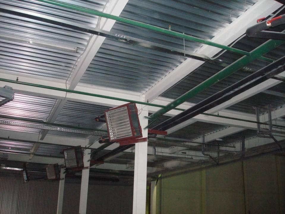 Отопление и вентиляция производственных помещений - система отопления