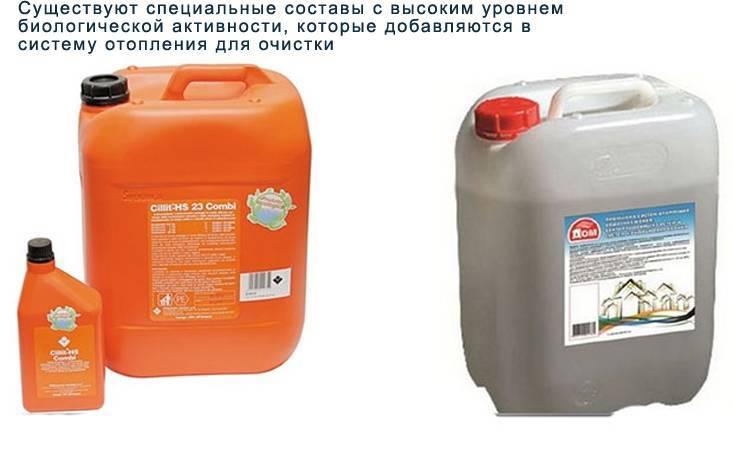 Жидкость для батарей и котлов