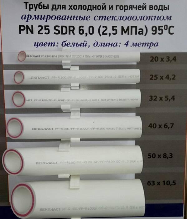 Труба для отопления полипропилен: какие полипропиленовые трубы лучше выбрать, технические характеристики ппр