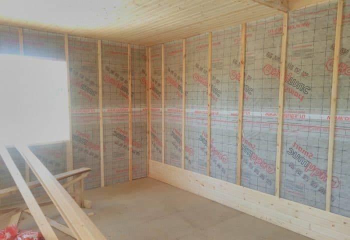 Нужна ли пароизоляция под гипсокартон в деревянном доме - строим сами
