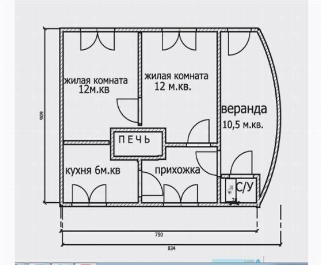 Проект дома с печным отоплением планировка загородного дома с отопительной печью, виды системы на фото и видео