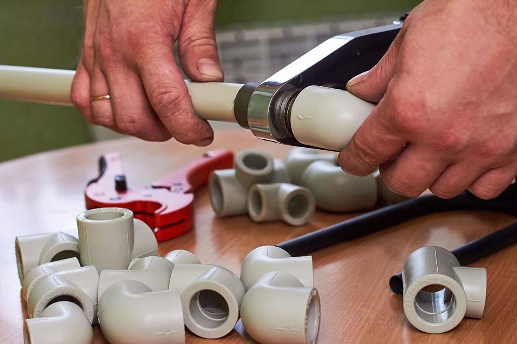 Инструкции по монтажу полипропиленовых труб своими руками