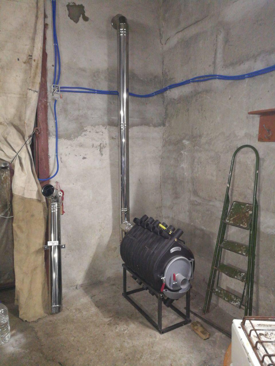Отопление в гараже, электричеством, отработкой, на тосоле, дровами