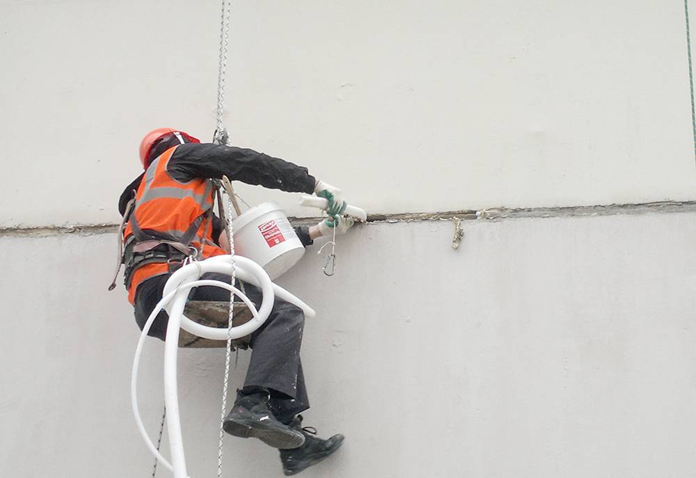 Герметизация межпанельных швов в доме – необходимость или деньги на ветер