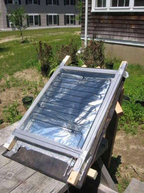 Как сделать солнечный водонагреватель своими руками для дома