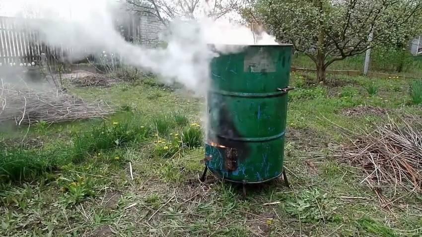 Как сделать бочку для сжигания мусора своими руками - это интересно - шняги.нет