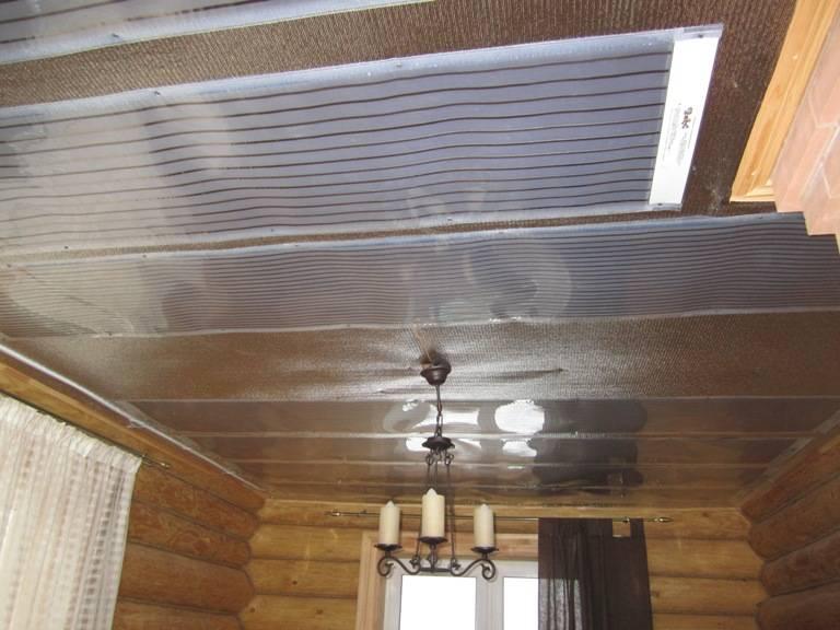 Теплый потолок плэн: обзор уникальной системы утепления дома, фото и видео