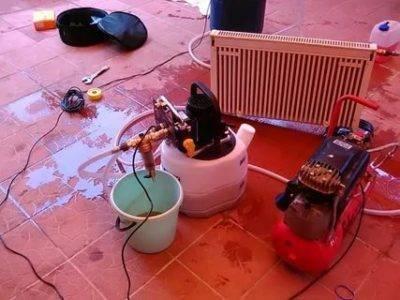 Как промыть систему отопления в частном доме: промывка своими руками, как продуть, чем прочистить от ржавчины