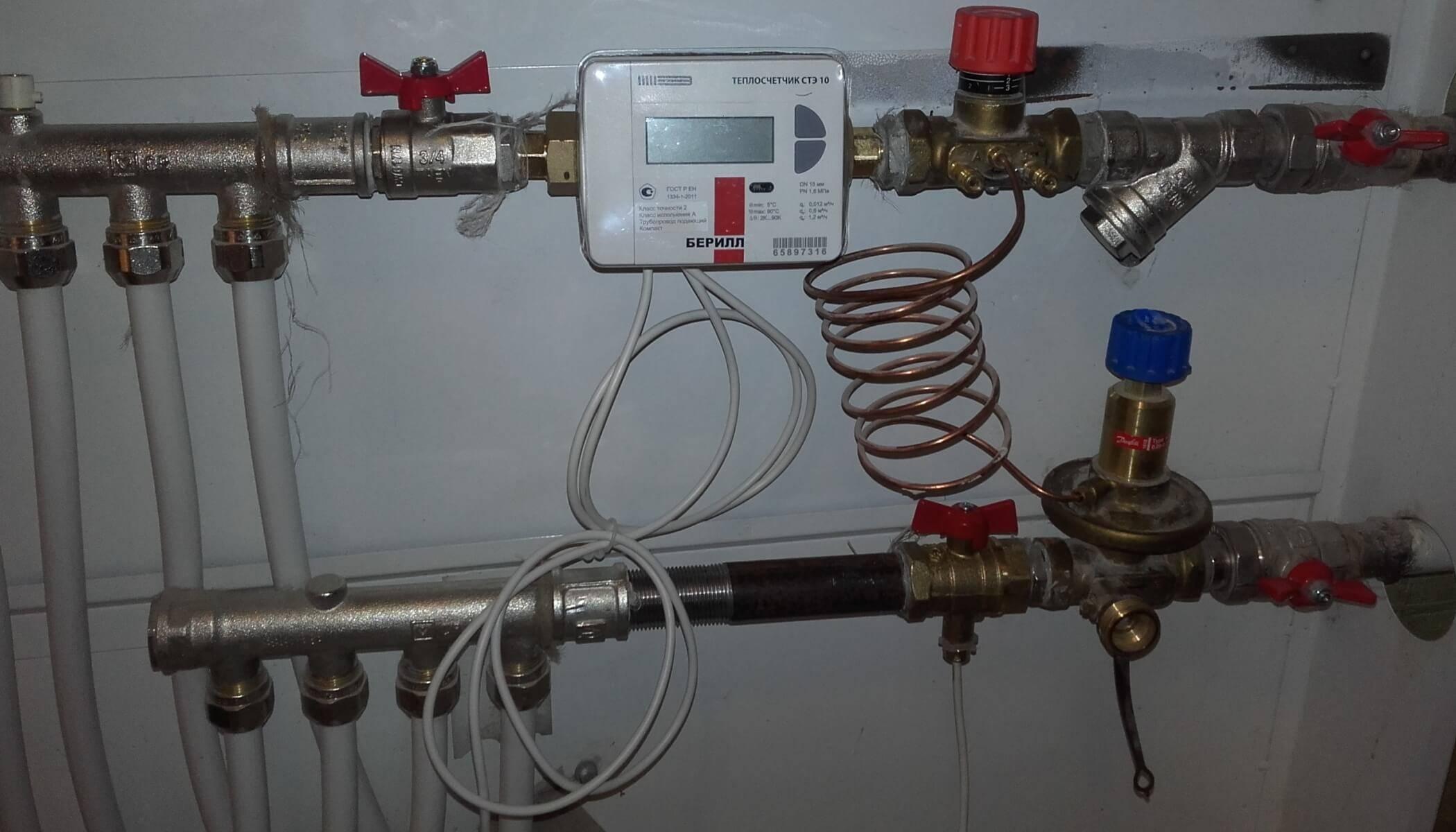 Общедомовой прибор учета тепла в многоквартирном доме — благо или наказание