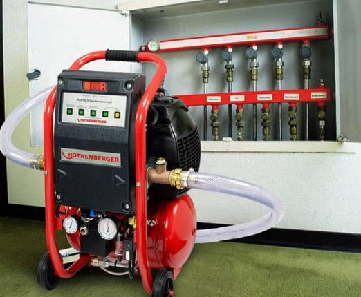Оборудование для промывки системы отопления – виды и выбор