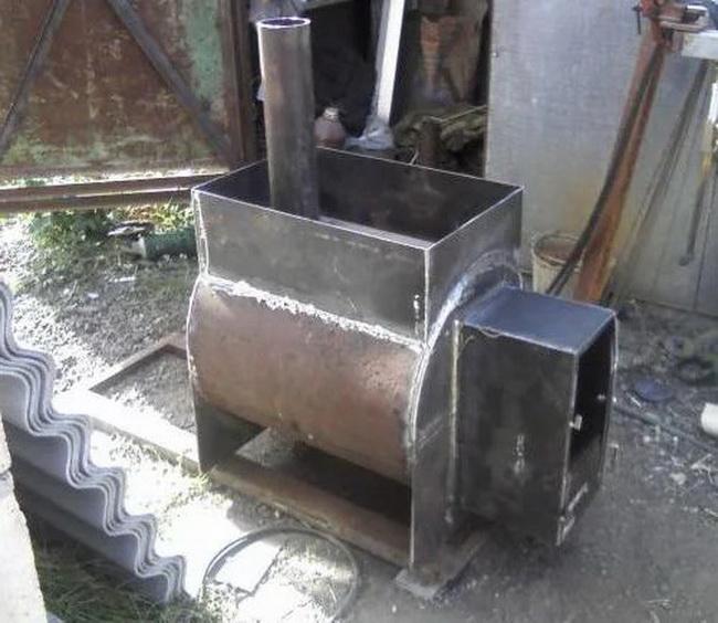 Дымоход в бане своими руками из стальной трубы: схемы и установка