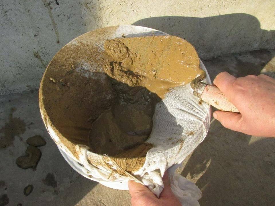 Раствор для печей своими руками: каким раствором класть печь, глиняный и цементный растворы
