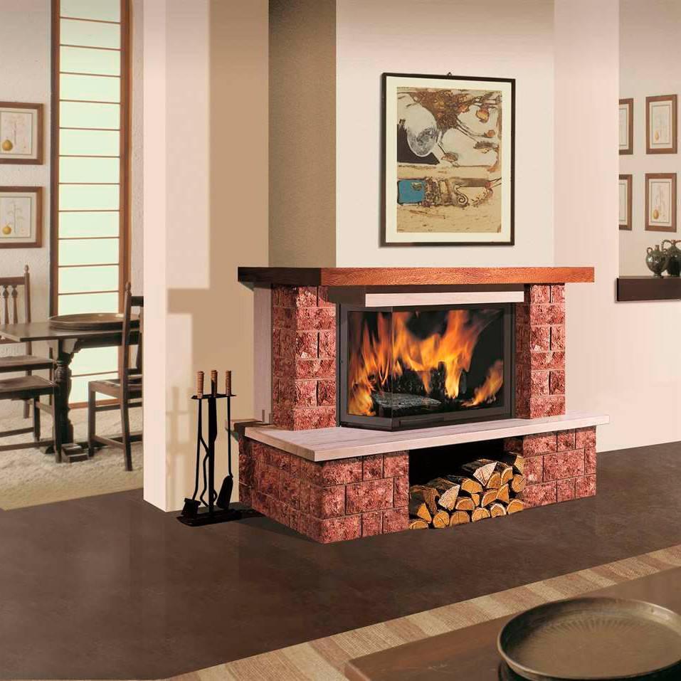 Магия живого огня дровяные камины для дома