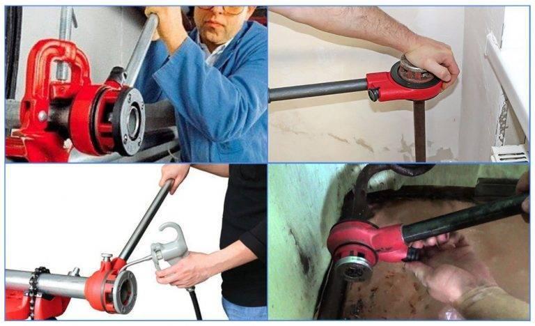 Как нарезать резьбу на трубе своими руками правильно: инструмент, инструкция - токарь