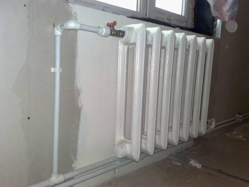 Делаем обвязку отопительных радиаторов из полипропиленовых труб