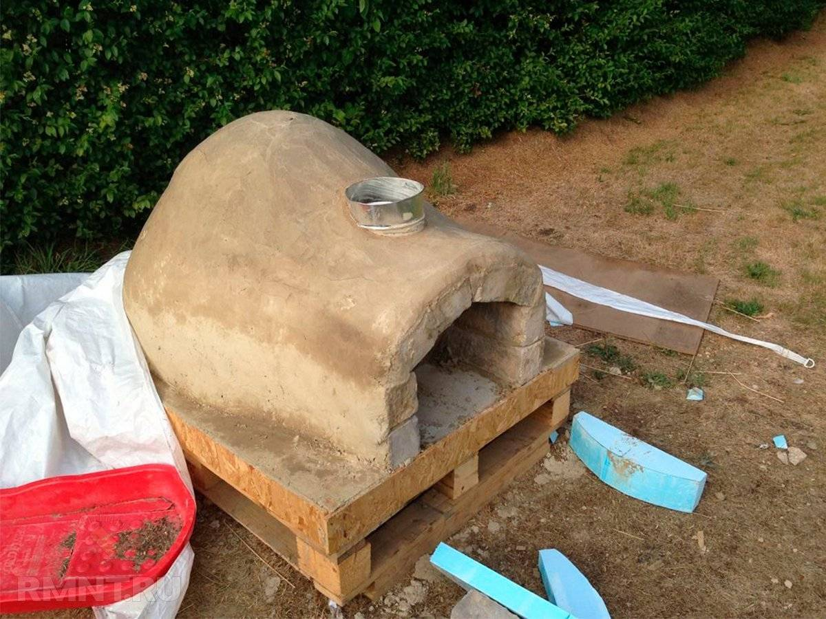 Глиняный раствор для печей: готовим смесь для кладки и штукатурки