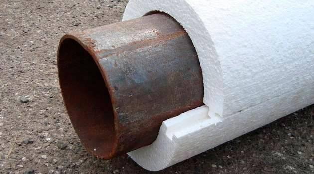 Скорлупа для утепления труб описание утеплителя и правила его применения