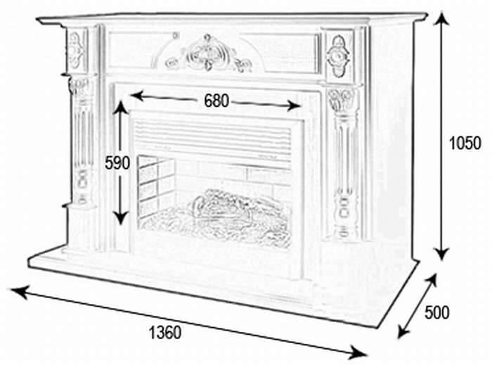 Как сделать декоративный фальш-камин