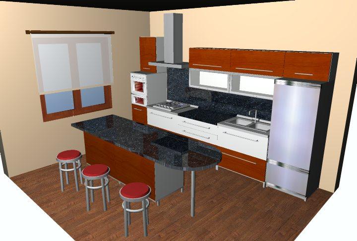 Конструктор кухни online: проектирование кухни в 3d