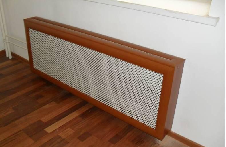 Экраны для батарей отопления:  функции, виды, материалы