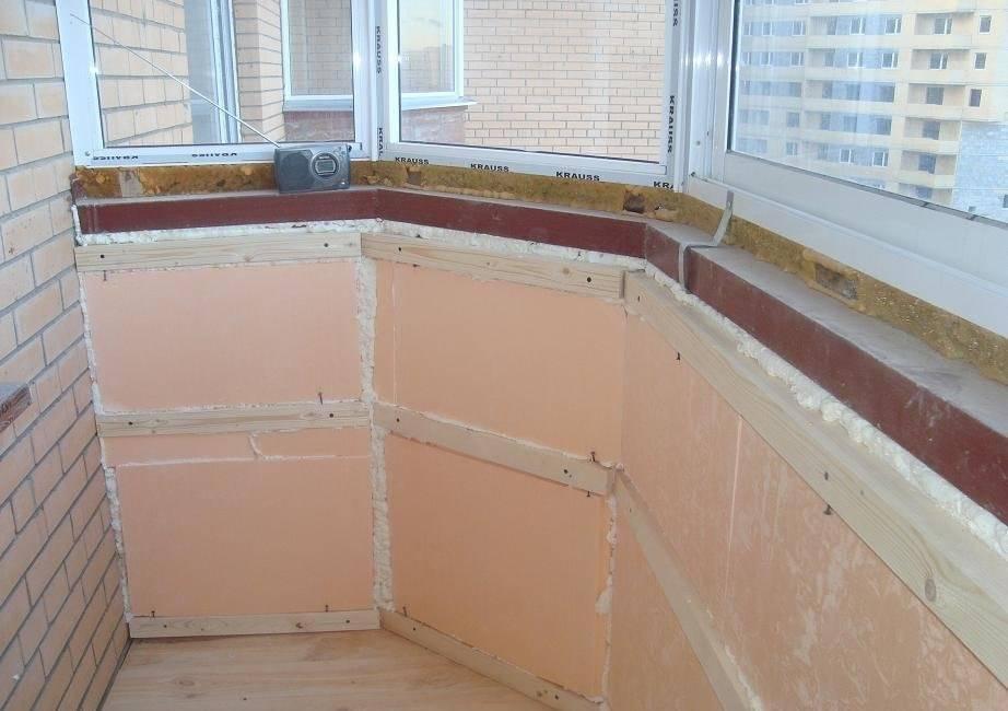 Как самому утеплить балкон изнутри пеноплексом