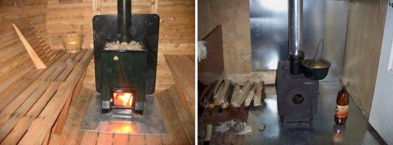 Установка печи в бане на деревянный пол пошагово: инструкция?