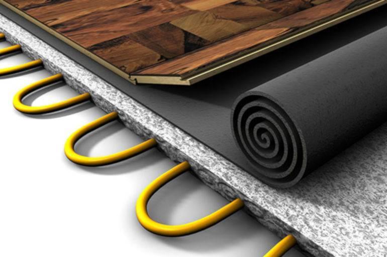 Как правильно выбрать и смонтировать теплый пол под ламинат