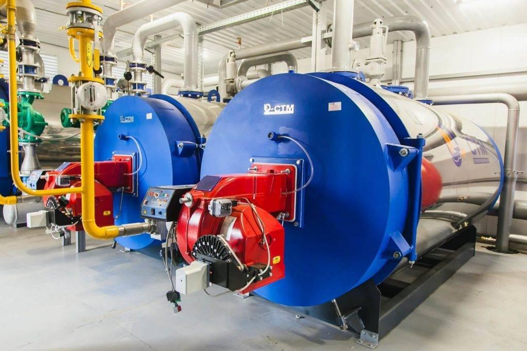 Промышленные котлы: водогрейные, стальные, чугунные газовые агрегаты отопления