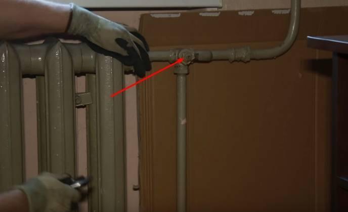 Демонтаж радиатора отопления. скрытая опасность