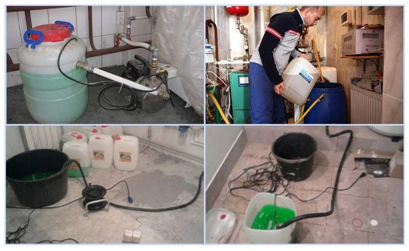 Как заполнить водой систему отопления двухконтурного котла