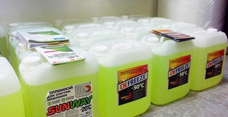 Незамерзающая жидкость для системы отопления частного дома
