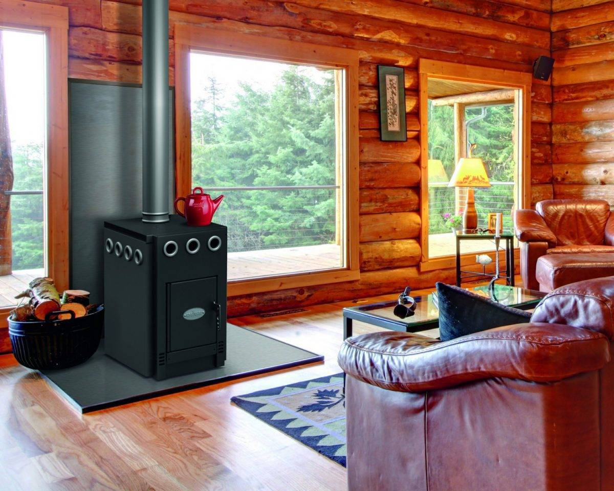 Как использовать камин для отопления дома, какой вид для этого лучше подходит