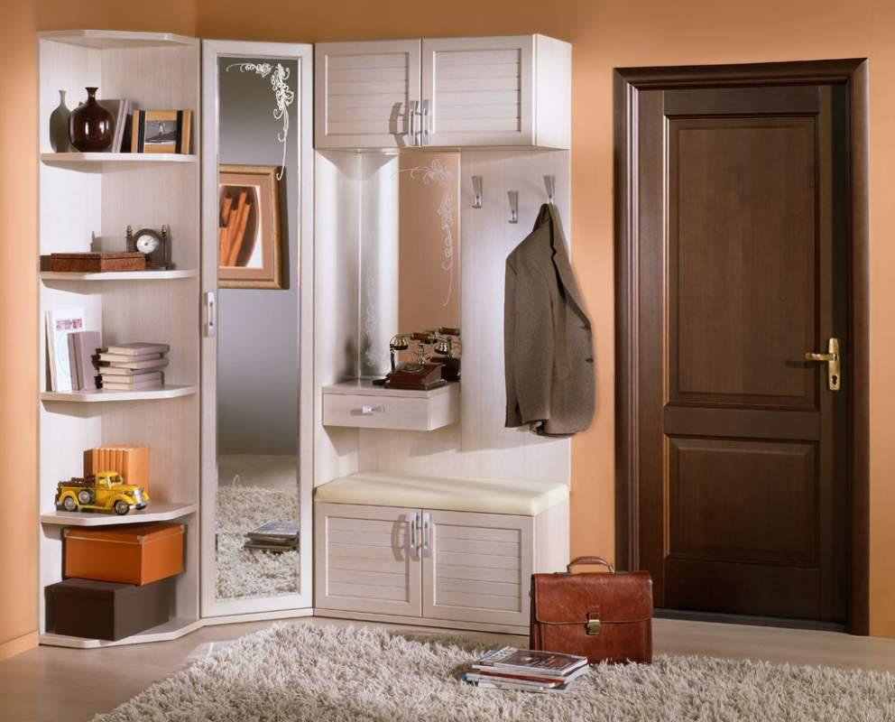 Советы по выбору мебели в маленькую прихожую, способы ее размещения