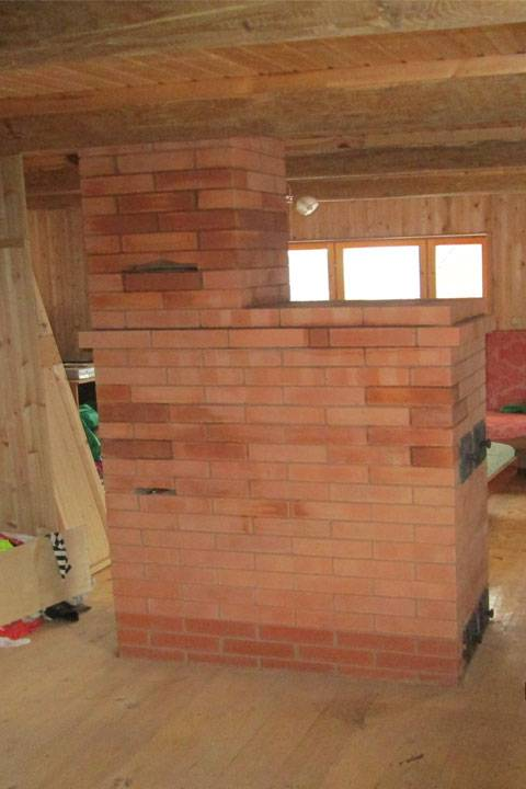 Проект дома с печным отоплением - делаем планировку заранее