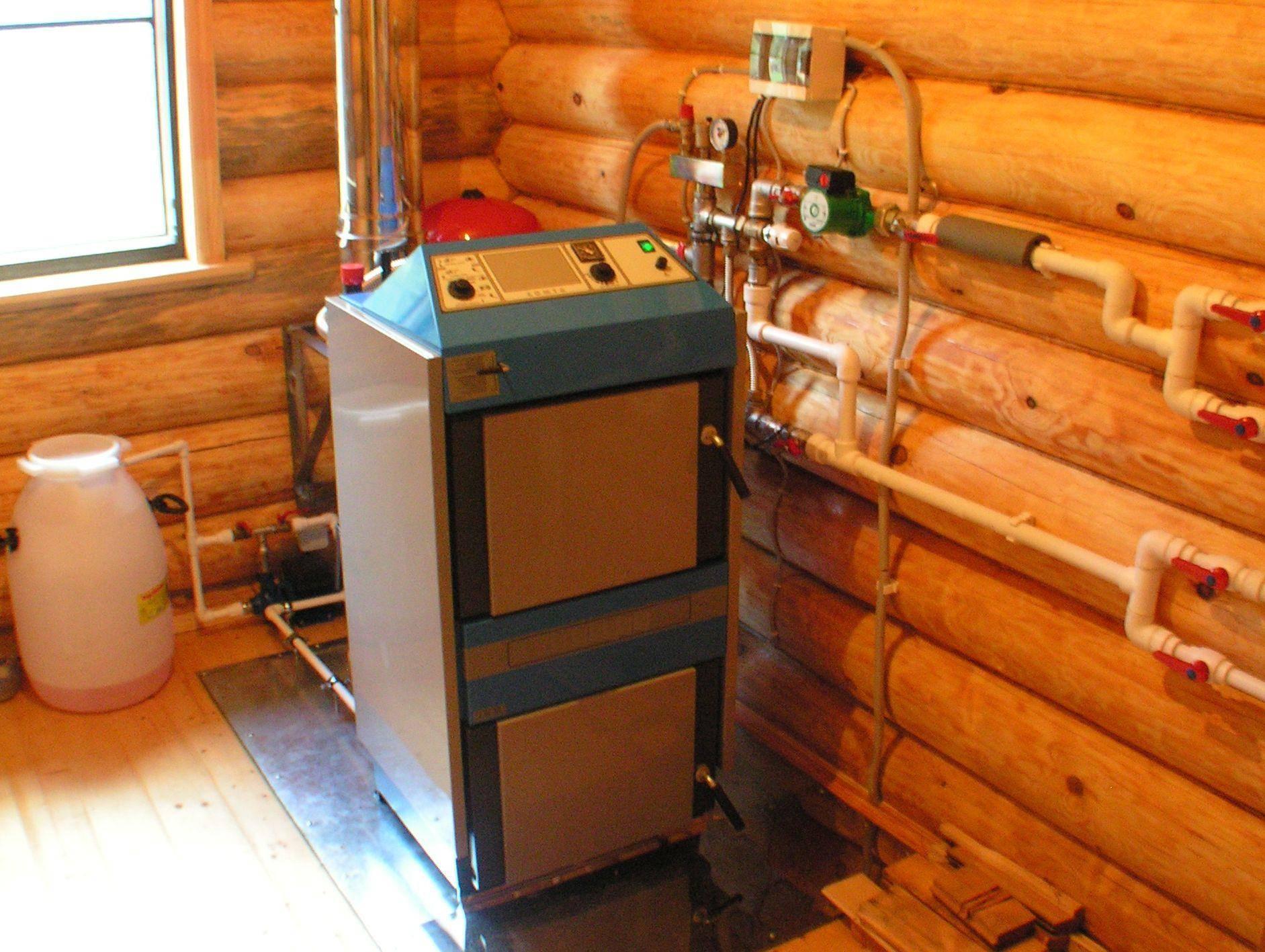 Котел отопления на дровах для частного дома: виды отопительных дровяных котлов для топки