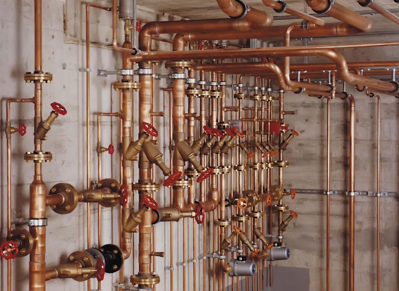 Медные трубы в системе отопления: когда их целеобразно использовать, плюсы и минусы медных труб, трубы из других материалов