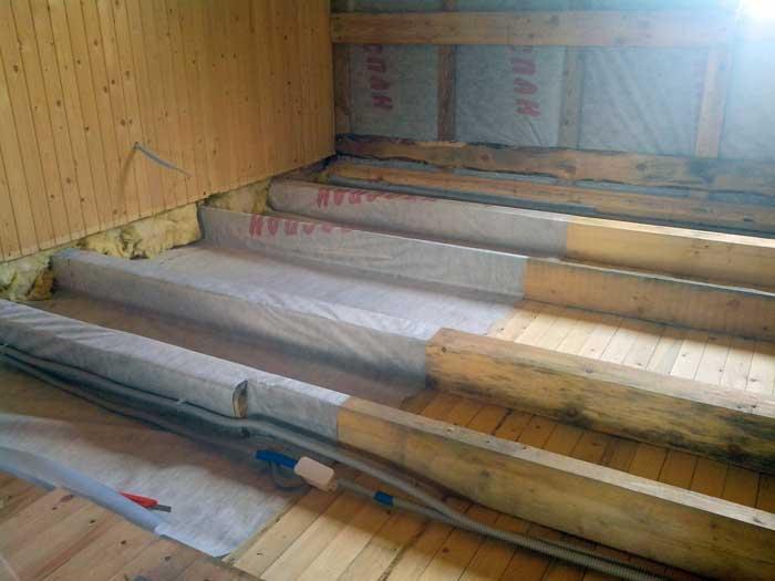Какой утеплитель для пола деревянного дома лучше выбрать?