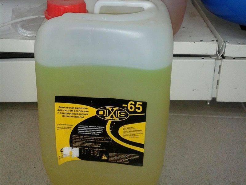 Жидкость для системы отопления частного загородного дома