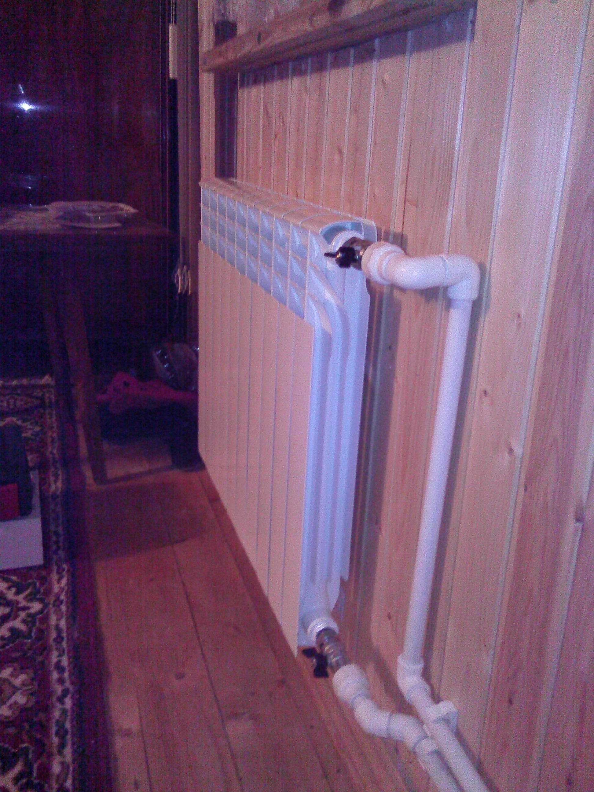 Подключение радиатора отопления к полипропиленовым трубам: обвязка радиатора, соединение кранов и тонкости подключения