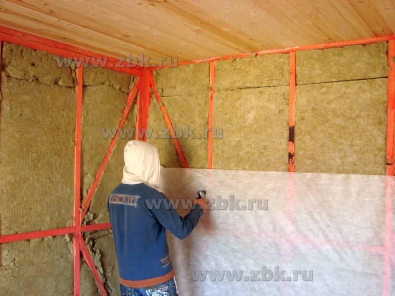Пароизоляция для стен: материалы и особенности устройства
