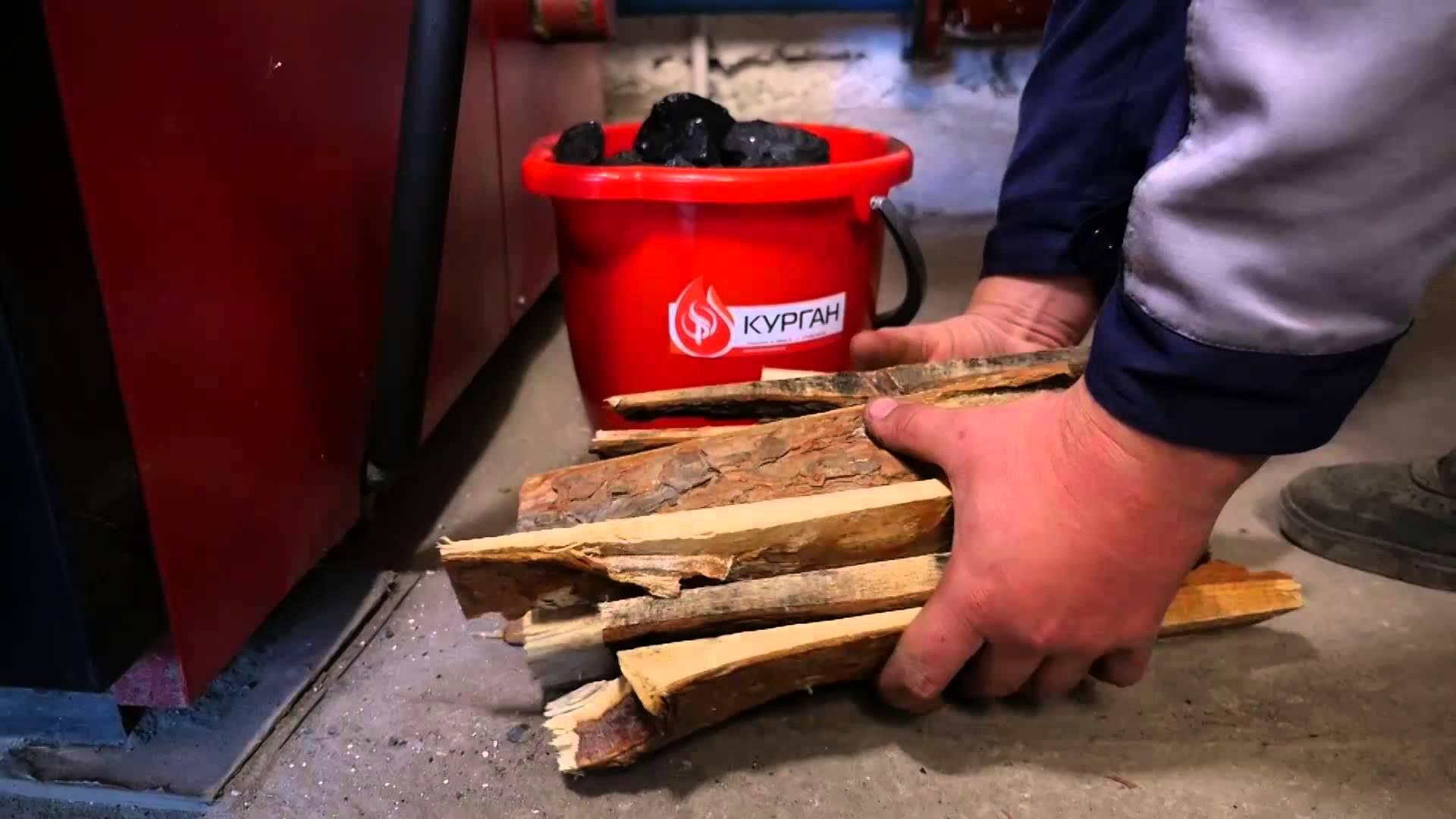 Как правильно топить печь дровами и углем