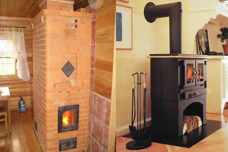 Печи для дачи на дровах: виды и классификации дровяных печей для отопления дачи
