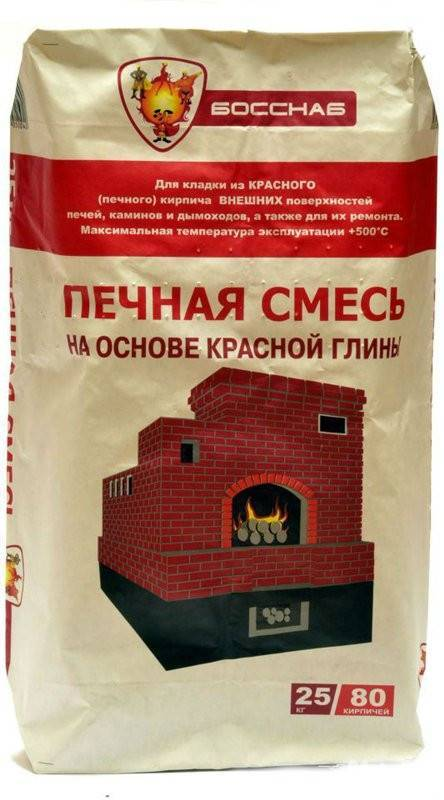 Смесь для кладки печи из кирпича: выбор и использование